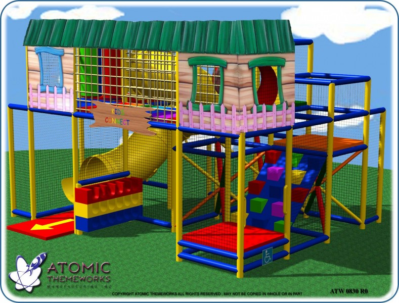 Sample Indoor Playground Designs | Atomic Themeworks Mfg Inc, DBA as ...