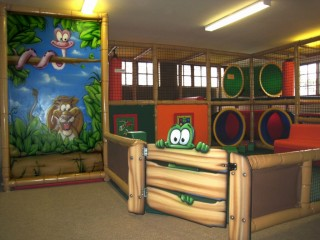 Play Center Theming And Branding Atomic Playgrounds