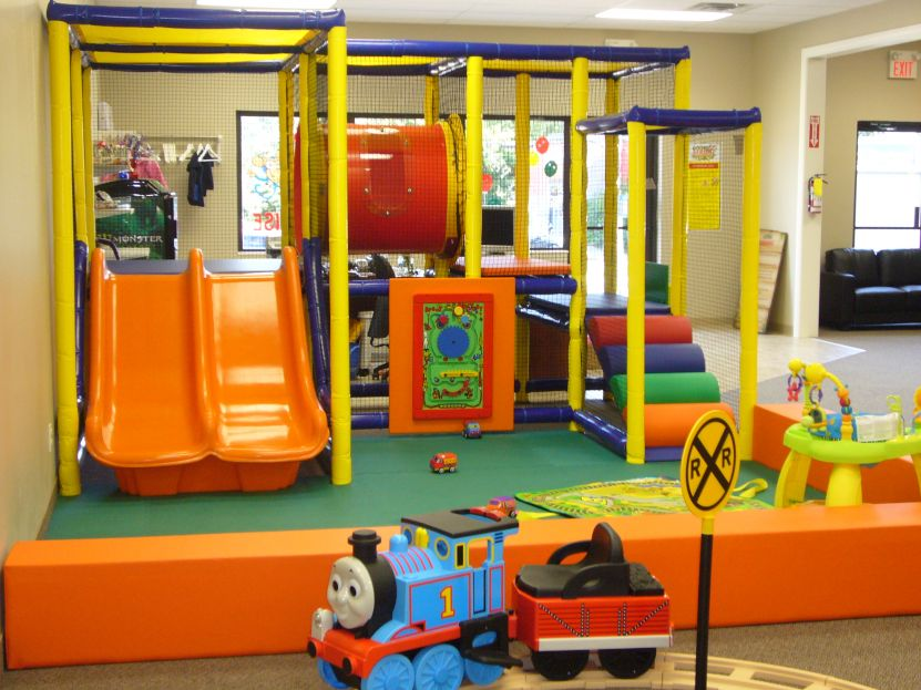 Kids Indoor Playground For Home - Round Designs